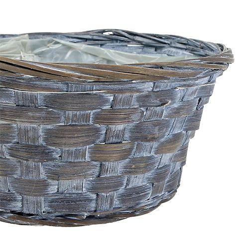 Tablero aglomerado redondo Ø20cm blanco / gris / marrón 8pcs