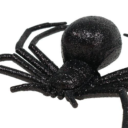 Spider Black 16cm con mica