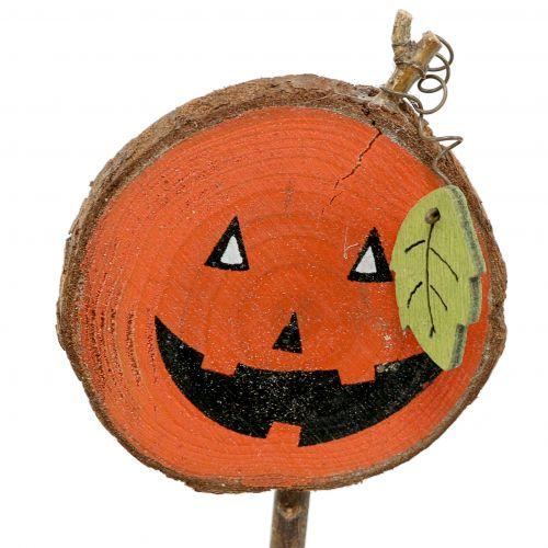Plug Pumpkin Nature, Naranja 8cm 12pcs