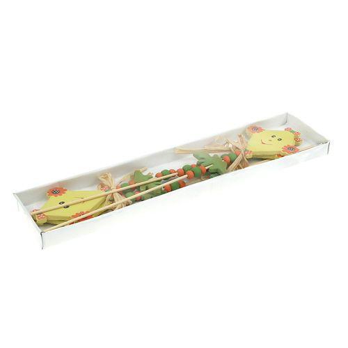 Tapón de flor Dragón amarillo L31cm 4pcs