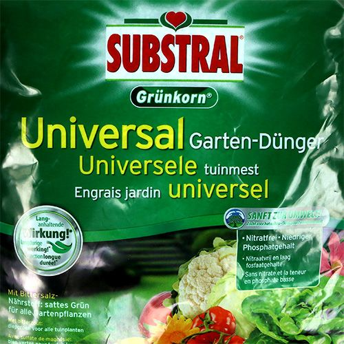 Fertilizante universal de grano verde substral m. Epsom sal 3kg