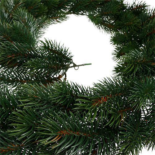 Guirnalda de abeto redonda verde 190cm