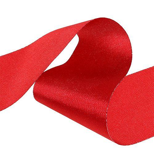 Cinta de mesa roja 10cm 15m
