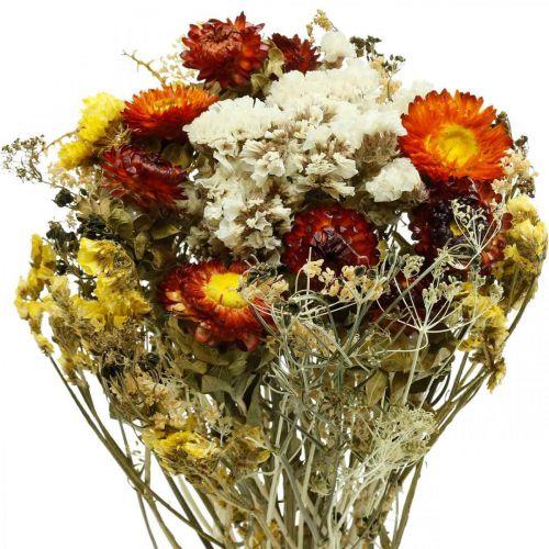 Ramo de flores secas Flores eternas y lavanda de mar 125g de flores secas