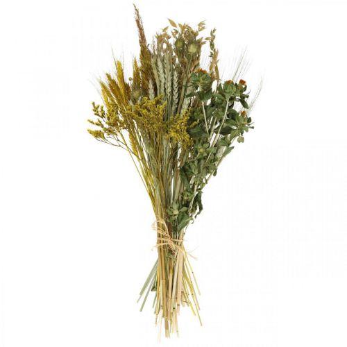 Set de bricolaje flores secas amarillo para secar ramo 60cm