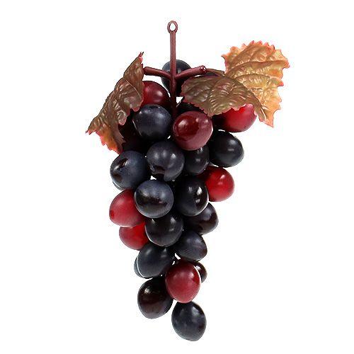 Uva rojo oscuro 15cm 4pcs