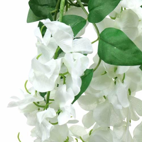 Guirnalda Wisteria Blanca 175cm 2pcs