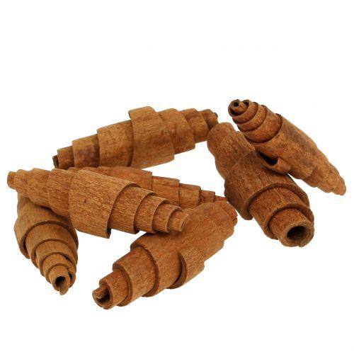 Decoración croissant canela 6.5cm - 7cm 30pcs