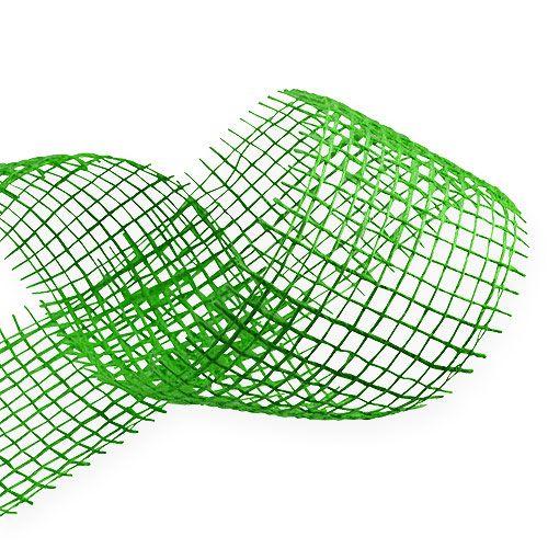 Cinta de yute verde 5cm 40m