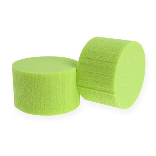 Cilindro enchufable Cilindro Ø8cm Verde 6pcs