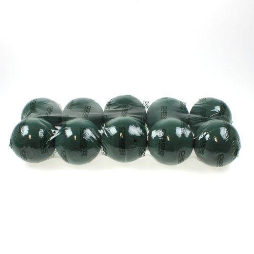 Bola de espuma floral mini verde oscuro Ø9cm 10pcs