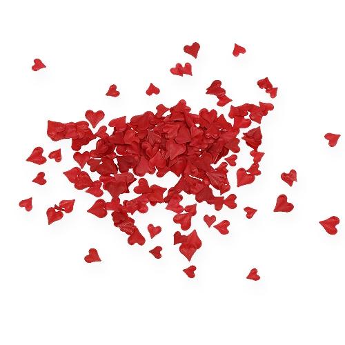 Espolvorear corazones decorativos rojo 5-8mm 1000p