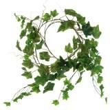 Guirnalda hiedra artificial verde 180cm 98 hojas