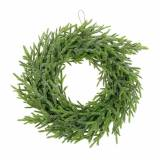 Corona de abeto Ø24cm verde