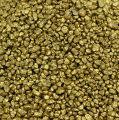 Granulado decorativo oro amarillo 2 mm - 3 mm 2 kg